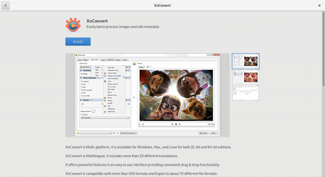 GNOME Software: XnConvert